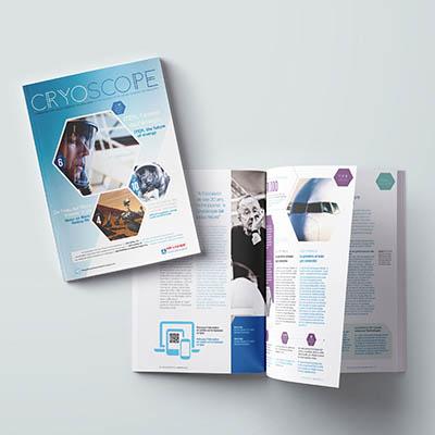 Magazine CRYOSCOPE pour Air Liquide