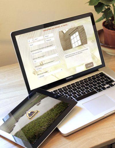 création site web responsive