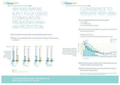 création data-vision plaquette produit Hexaxim