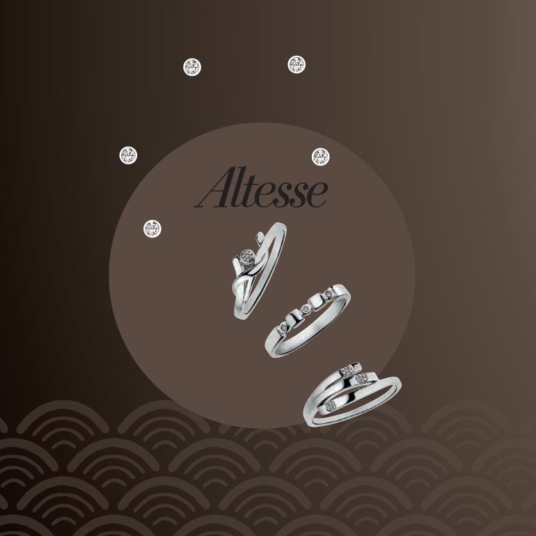 Leaflet collection argent & diamant pour Altesse