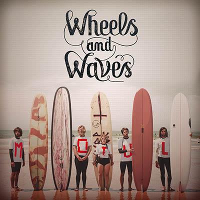 Flyer Wheels&Waves pour Motul France