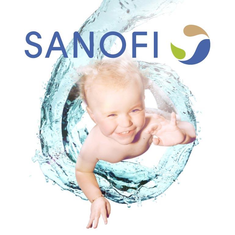 Plaquette Hexaxim pour Sanofi Pasteur
