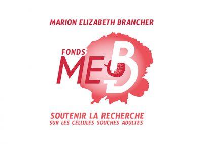 nouveau logo Fonds Marion Elizabeth Brancher