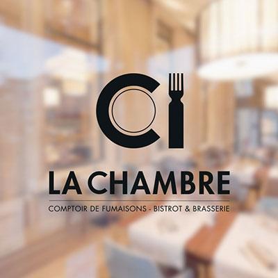 Création de logo pour le restaurant La Chambre