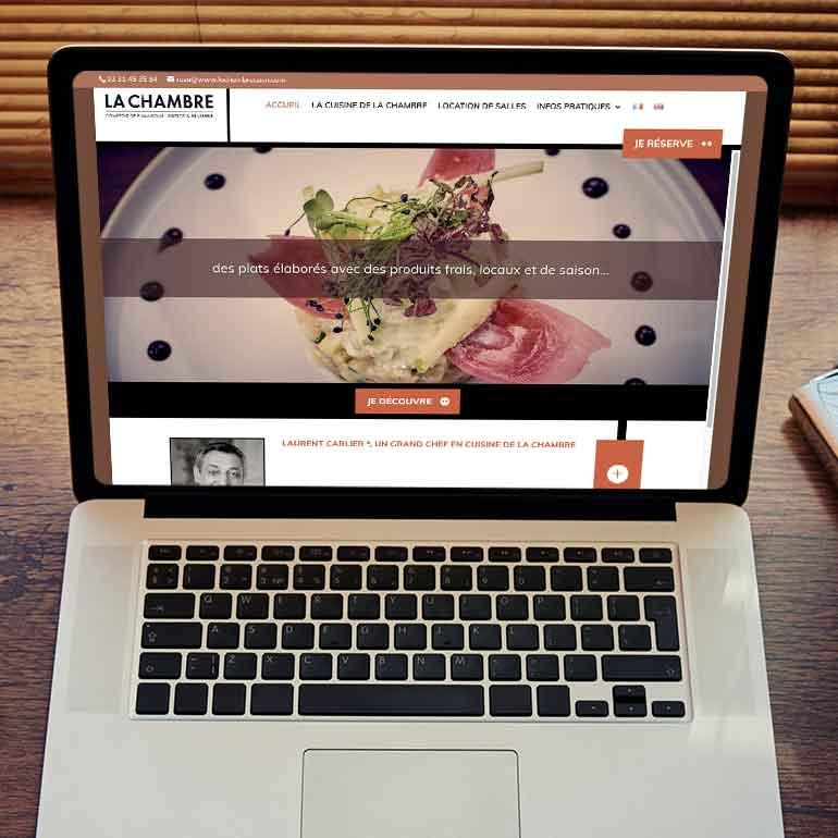 Réservation en ligne pour le restaurant La Chambre