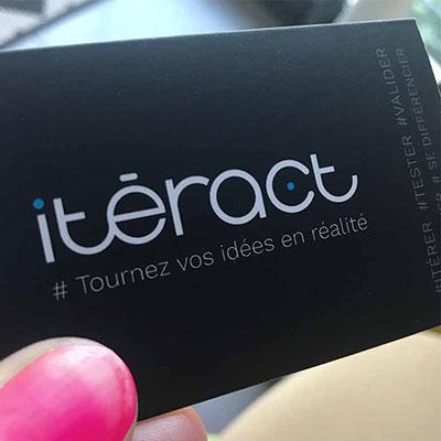 Co-création d'une identité visuelle pour Iteract