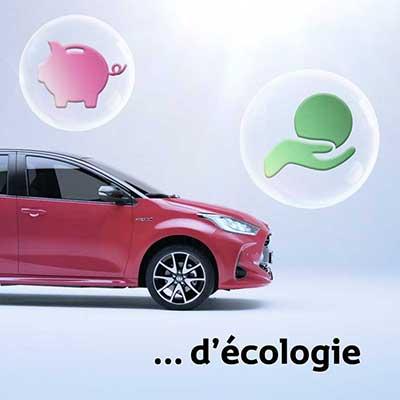 Clip pour l'offre d'assurance de la nouvelle Yaris de Toyota