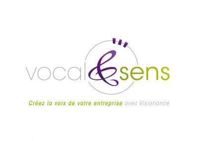 Logo Vocal&sens par Visionance